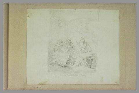 Joseph en prison interprète les songes de l'échanson et du panetier