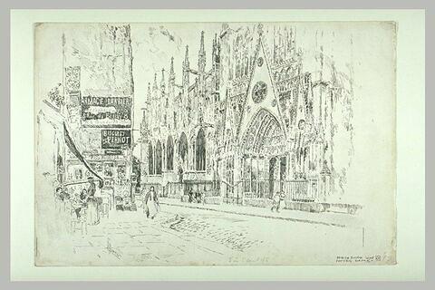 Notre Dame de Paris : le portail nord