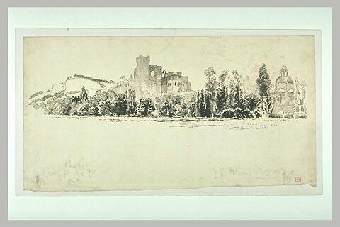 Montmajour, l'abbaye et la chapelle Sainte-Croix
