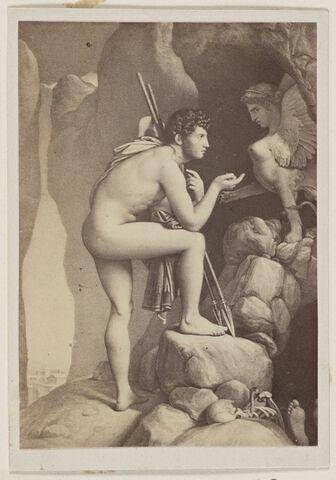 Oedipe explique l'énigme au Sphinx
