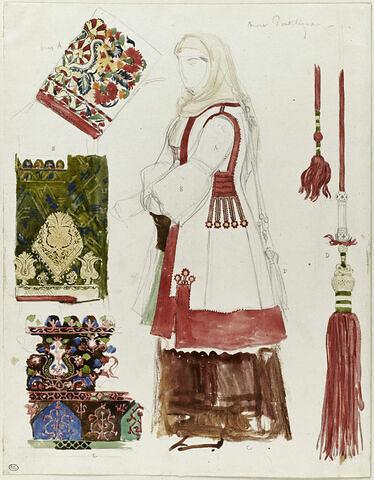 Costume du Mont Pentélique