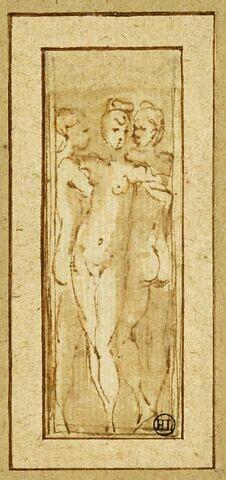 Trois femmes nues : les Graces?