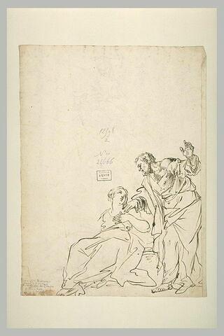 Saint Pierre visite sainte Agathe