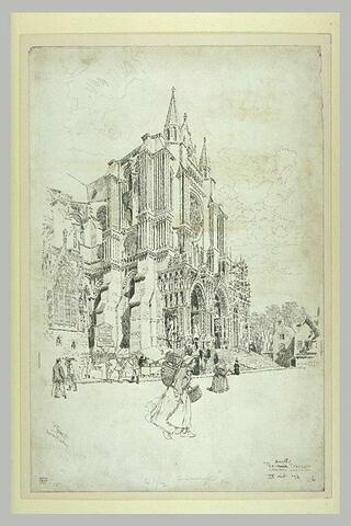 La cathédrale de Chartres : transept sud