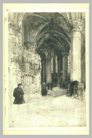 La cathédrale de Chartres : le déambulatoire