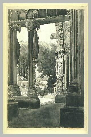 La cathédrale de chartres : porche nord