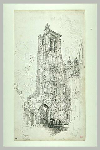 La cathédrale de Bourges : la tour de beurre