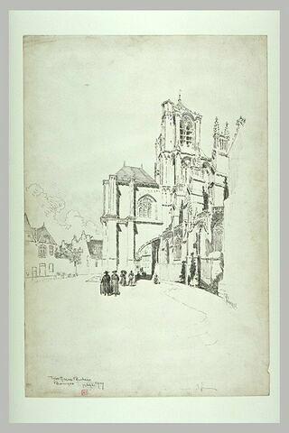 La cathédrale de Bourges : le pilier butant