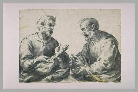 Deux apôtres ou deux saints (?)