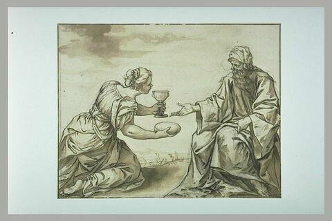 Le Prophète Elie et la veuve de Sarepta