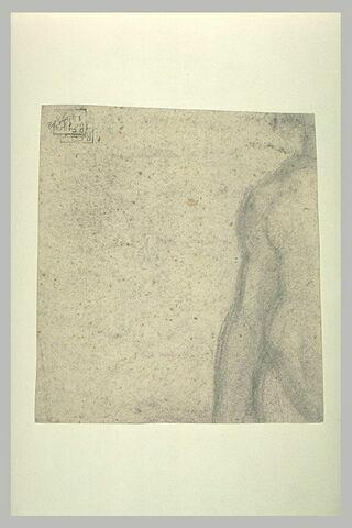 Fragment gauche d'un corps : tors et bras droit