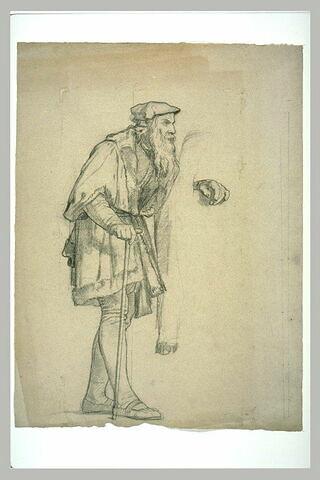 Etude pour Léonard de Vinci