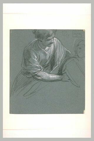 Jeune homme soutenant saint Augustin