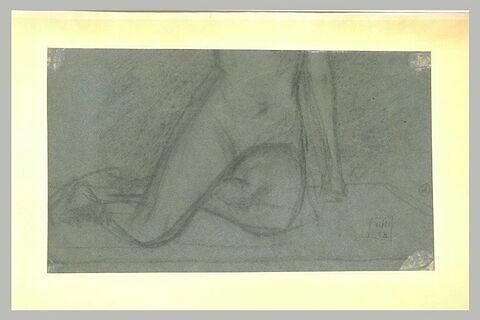 Partie inférieure du corps d'une femme
