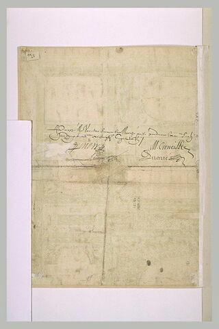 Annotation manuscrite (contrat)