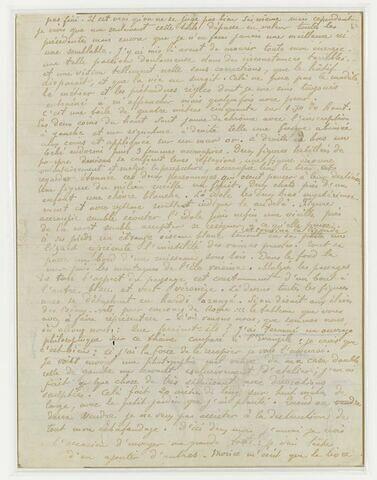 Février 1898, (Tahiti), à Daniel de Monfreid (suite)