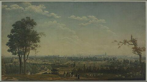 Vue générale de Paris