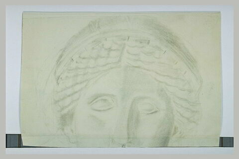 Fragment d'une tête de femme