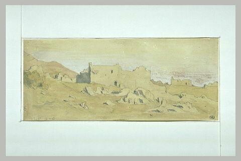 Souli, village en ruines