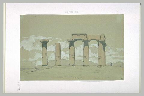 Corinthe, Temple d'Apollon