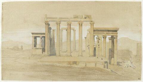 L'Érechthéion, à  Athènes