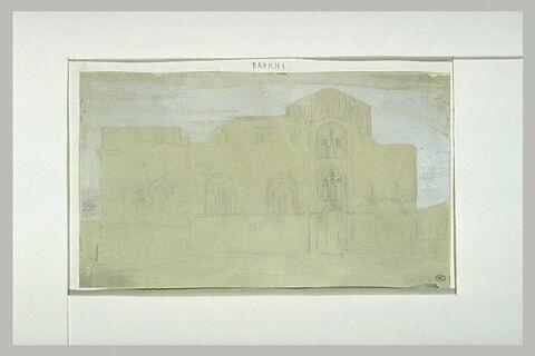 Daphni, l'église vue du côté sud