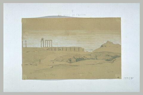 Athènes, l'Illisus, la fontaine Callirhoé et l'Olympéion