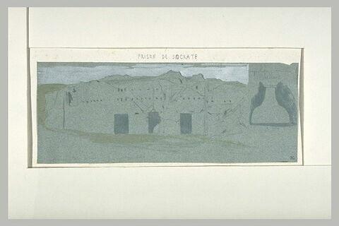 Athènes, prison de Socrate