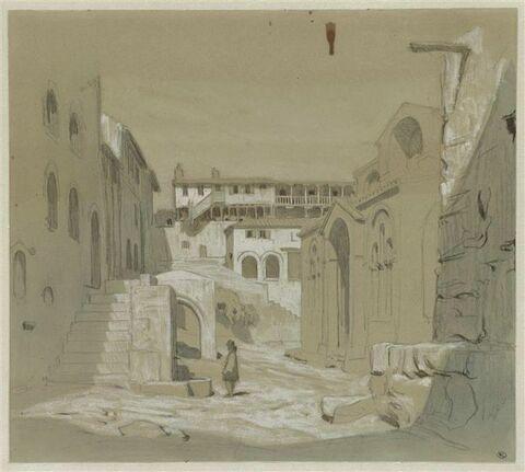 Saint-Luc-en-Phocide, intérieur du monastère de Saint-Luc-le-Stiriote