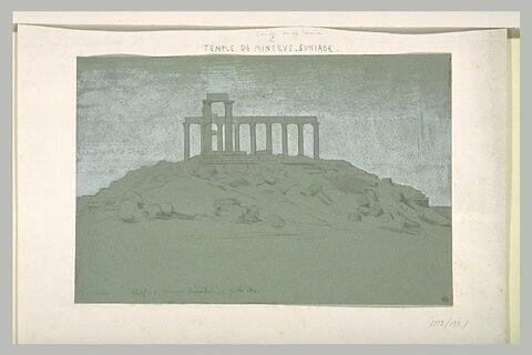 Cap Sounion, le temple de Poséïdon