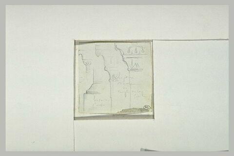 Cap Sounion, fragment de l'autel du temple