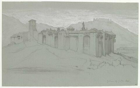 Le couvent d'Iviron, sur le Mont Athos