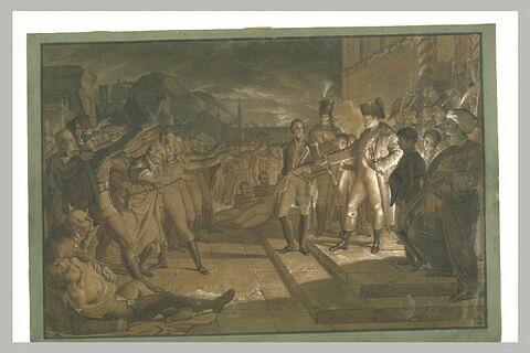 Le Serment des Saxons à Napoléon après la bataille d'Iéna
