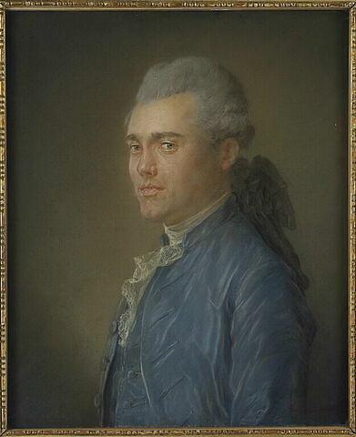 Portrait de Claude Floret l'Aîné ( 1744-1794).