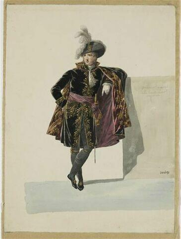 Costume de procureur général de la haute cour impériale