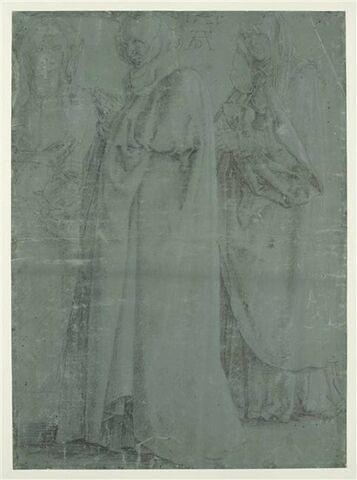 La Vierge et deux saintes femmes