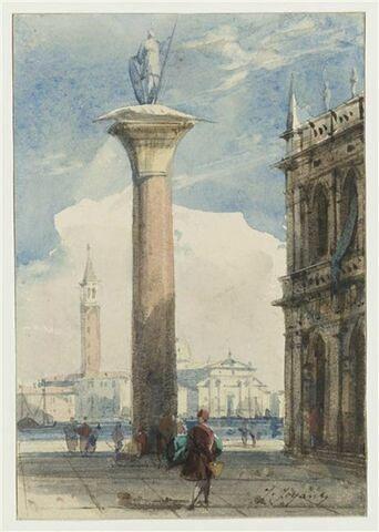La Piazza San Marco et la Salute à Venise