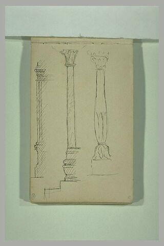 Croquis de colonnes