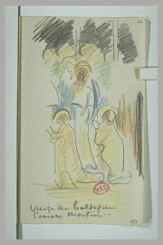 La Vierge au baldaquin