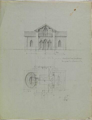 Romainville, Chapelle et Château (?)