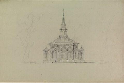 Petite chapelle : élévation