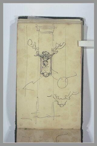 Epitaphe sur un pilier
