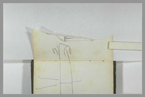 Patte inférieure de l'acrrochage d'un tableau