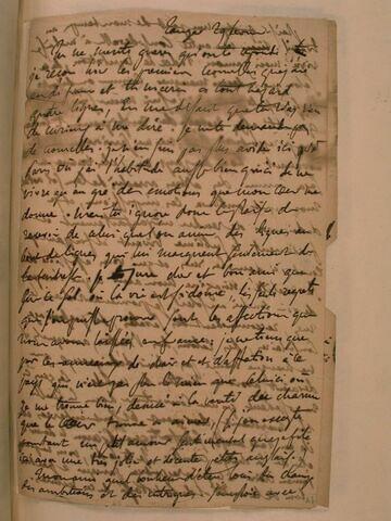 29 février (1832), Tanger, à J.B. Pierret