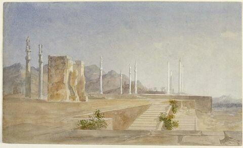 Le grand escalier de Persépolis