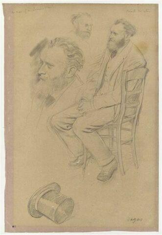 Portrait d'Edouard Manet