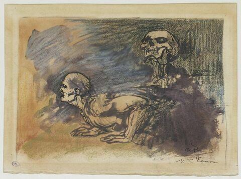 L'Ennemi, illustration pour le poème de Charles Baudelaire