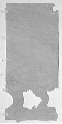 Fragment de figure, le bras gauche replié