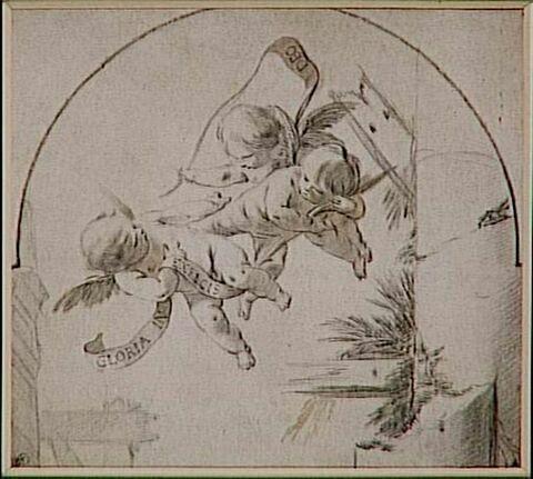 Adoration des bergers (détail)