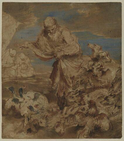 Noé et les animaux de l'arche